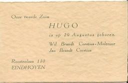 1935 geboortekaartje HBC
