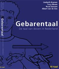 Omslag Gebarentaal, de taal van doven in Nederland